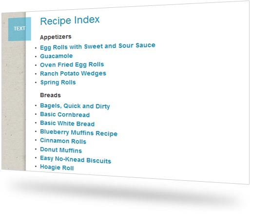Recipe Index >> Say Mmm Recipe Index For Blogs And Websites